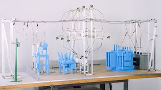 Pioneering Safety in High Voltage Utility Work with 3D Printed Training Models