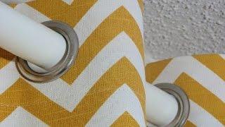 Расчет ткани для пошива штор на люверсах.(, 2014-10-24T09:16:33.000Z)