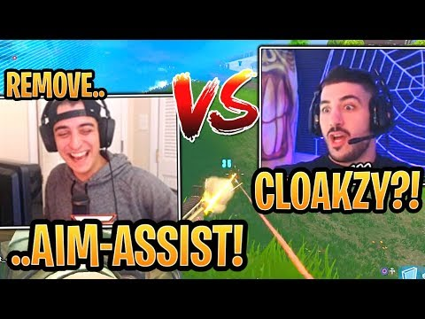 NickMercs DESTROYED FaZe Cloak in a 1v1 in a Scrim Match - Fortnite Best and Funny Moments