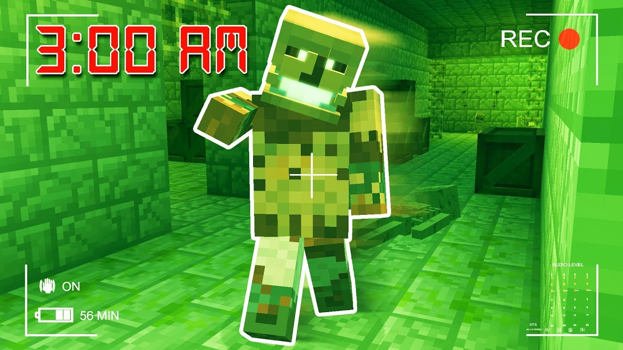 SCARY HOSPITAL MINECRAFT ESCAPE AT 12AM!