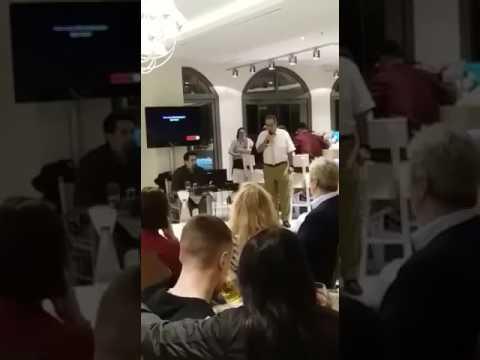 Karaoke Nights at Sentido Pearl Hotels, Crete: Panagiotis Tsiaprazidis