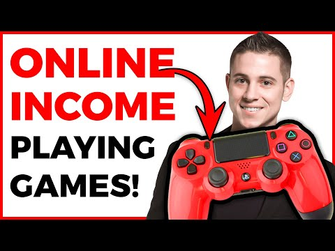 Earn $36 Per Hour Playing VIDEO GAMES! Available Worldwide (Make Money Online)