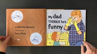 My Dad Thinks He's Funny - Children's Book