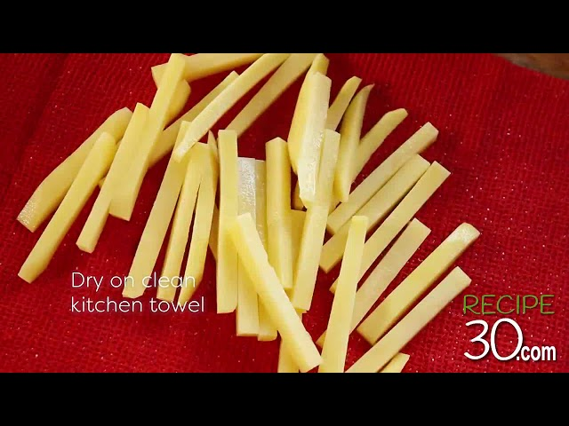 How to cook Perfect French Fries like in a Restaurant