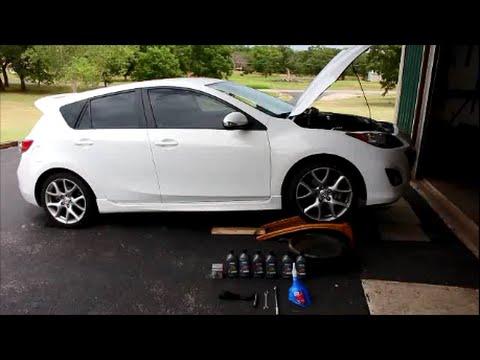 Mazda sd 3 oil change - YouTube