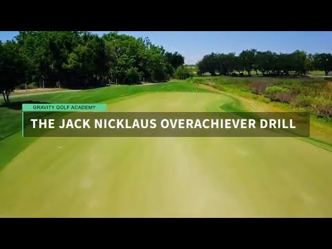 The Jack Nicklaus Overachiever Drill