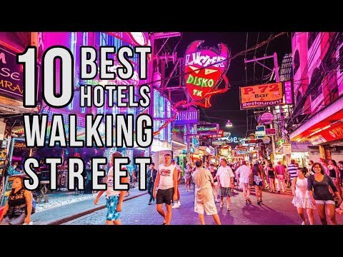 Top 10 Best Pattaya Hotels Near Walking Street