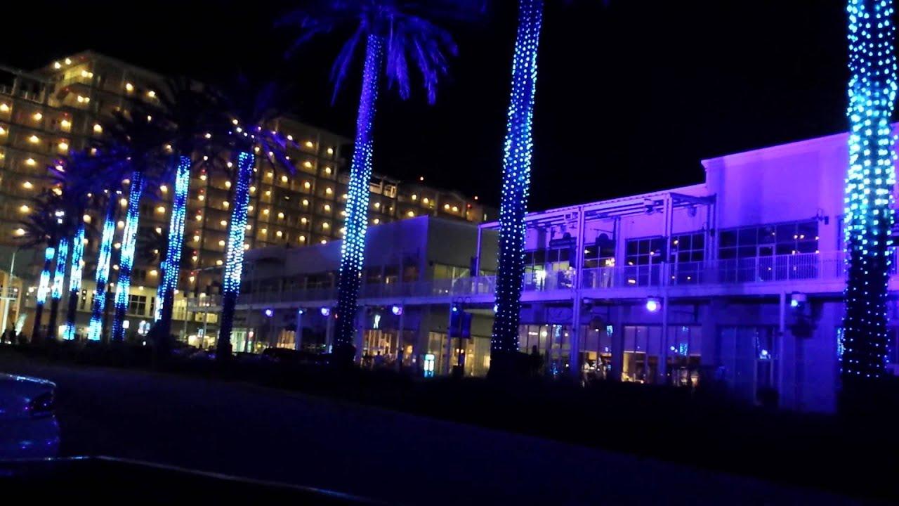Nightly Light Show The Wharf In Orange Beach Al Near Gulf Ss
