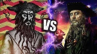 Чёрная Борода в ЖИЗНИ или в ФИЛЬМЕ пираты карибского моря
