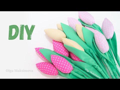 0 - Як зшити тюльпани з тканини своїми руками?