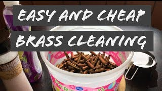 Cleaning Reloading Brass without a Tumbler