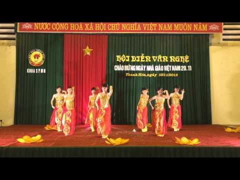 Múa Sắc Hoa - K13B SPMN - ĐH Hồng Đức