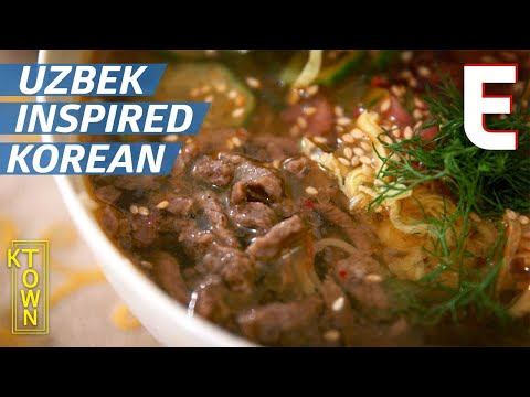 What is Korean-Uzbek Food? — K-Town