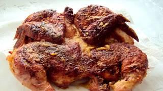 Как приготовить курицу на мангале   How to cook chicken on the grill