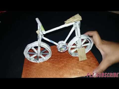 Newspaper cycle | Handmade cycle| By Nayn Creations