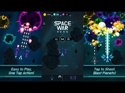 Space War Hero - free galaxy shooting game Android Gameplay