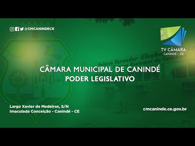 1ª SESSÃO ORDINÁRIA DA CÂMARA MUNICIPAL DE CANINDÉ 05/02/21