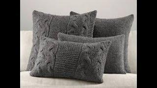 Идеи для вдохновения, чтобы связать декоративную подушку. Выбирайте любую для моего МК.