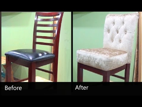 DIY - HOW TO REUPHOLSTER A CHAIR - ALO Upholstery