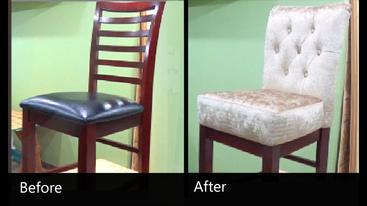 Reupholstering A Chair Folding Yacht How To Reupholster Alo Upholstery Youtube