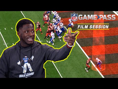 Tre White Breaks down being a Travel Corner, Off-Coverage, & More! | NFL Film Session