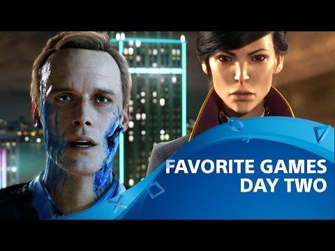 Los juegos más populares del día 2 de E3 | Detroit: Become Human, Dishonored 2, y más