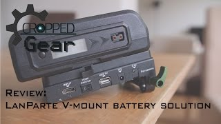 Review - LanParte V-Mount Battery Plate and V-Lock Battery