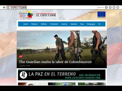 Diario The Guardian destacó proyecto periodístico Colombia 2020 de El Espectador | Noticias Caracol