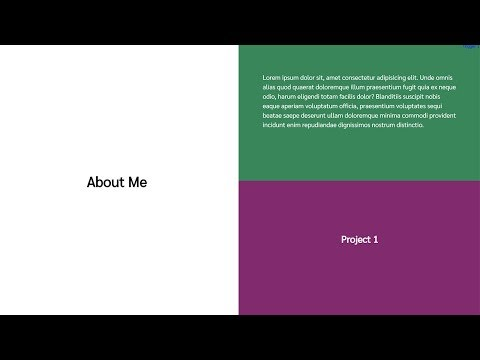 Split Screen Parallax Effect Tutorial   HTML CSS & Javascript
