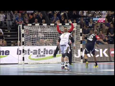THW Kiel vs  KIF Kolding Kopenhagen (first half) Travel Video