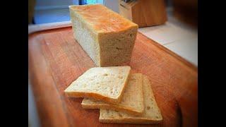Super Soft No-Knead Sandwich Bread (Pullman Tin) all homemade long fermentation