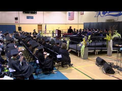 UW-Rock County 2015 Commencement Ceremony