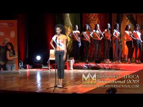 Miss West Africa Int. IV / 2013: Queen Of Tourist Treasure Pt.2 - Queen's Introduction