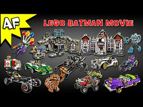 Every Lego Batman Movie Set - Complete Winter Collection!