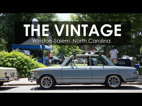 The Vintage: The Largest Vintage BMW Show in North America
