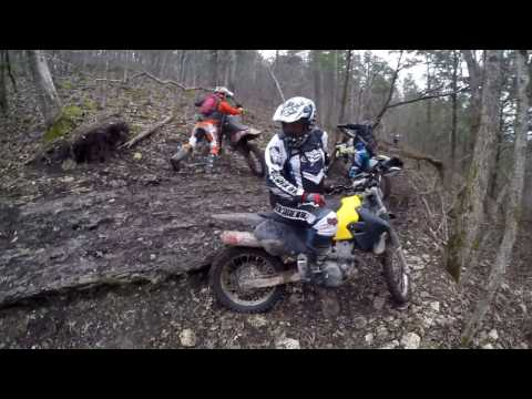 Dirt biking at Chadwick ORV Hills, Trails and Fails