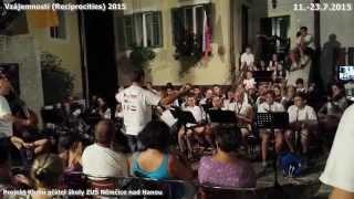 Projekt Vzájemnosti - Lovran Chorvatsko 2015 , Klub přátel ZUŠ Němčice nad Hanou