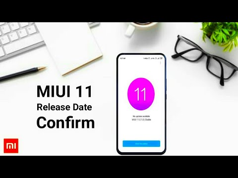 Repeat MIUI 11 Release Date Confirm by Technical Vickyzone