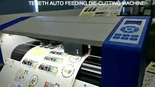 TENETH AUTO FEEDING DIE-CUTTING MACHINE