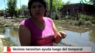 Vecinos de González Catán y Laferrere solicitan ayuda
