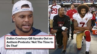 Dallas Cowboys Quarterback Dak Prescott Wrecks NFL Anthem Protesters (VIDEO)