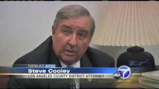 Los Angeles District Attorney Steve Cooley on Marijuana