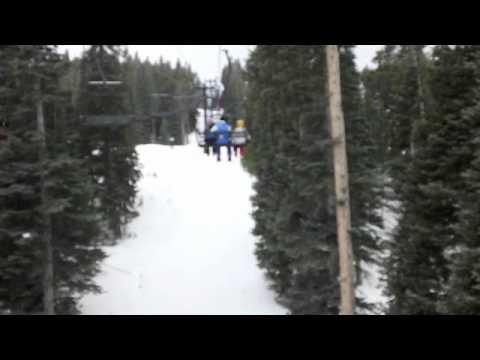 Skiing At Eldora Ski Resort!