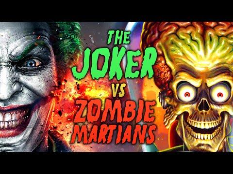 THE JOKER vs ZOMBIE MARTIANS ★ Left 4 Dead 2 Mod (L4D2 Zombie Games)