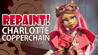 Repaint! Lolita Swap: Charlotte Copperchain Steampunk Custom Doll