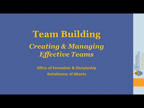 different steps in the team work process