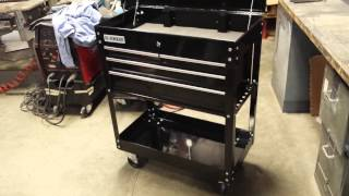 Harbor Freight Tool Cart - US General - Review