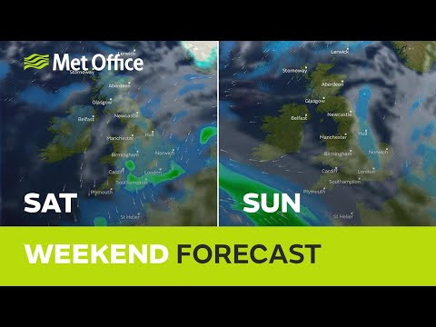 Weekend weather - Cold and unsettled
