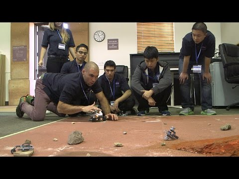 College Student Teams Design Mars Rovers