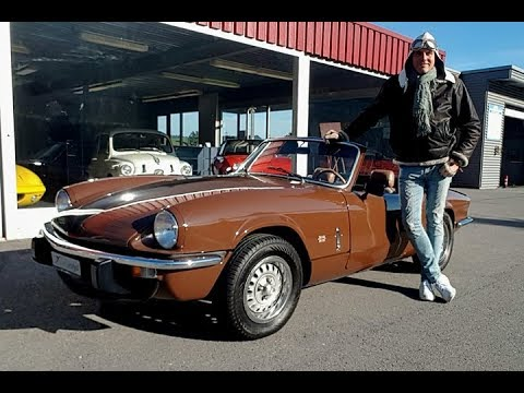 Triumph Spitfire 1500 Driving With Gloves Youtube